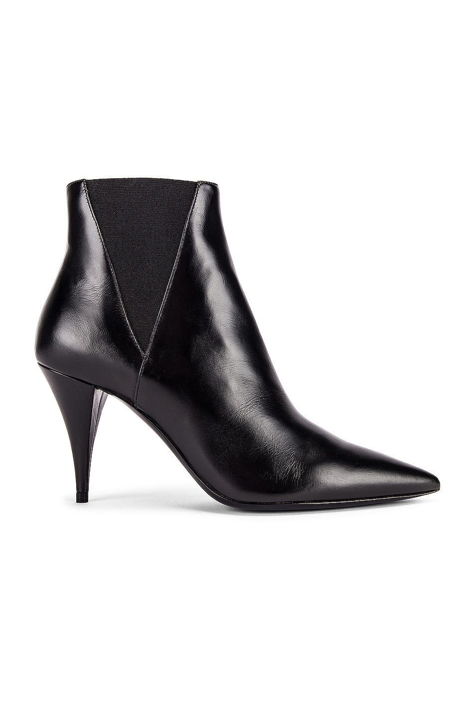 Image 1 of Saint Laurent Kiki Chelsea Booties in Black