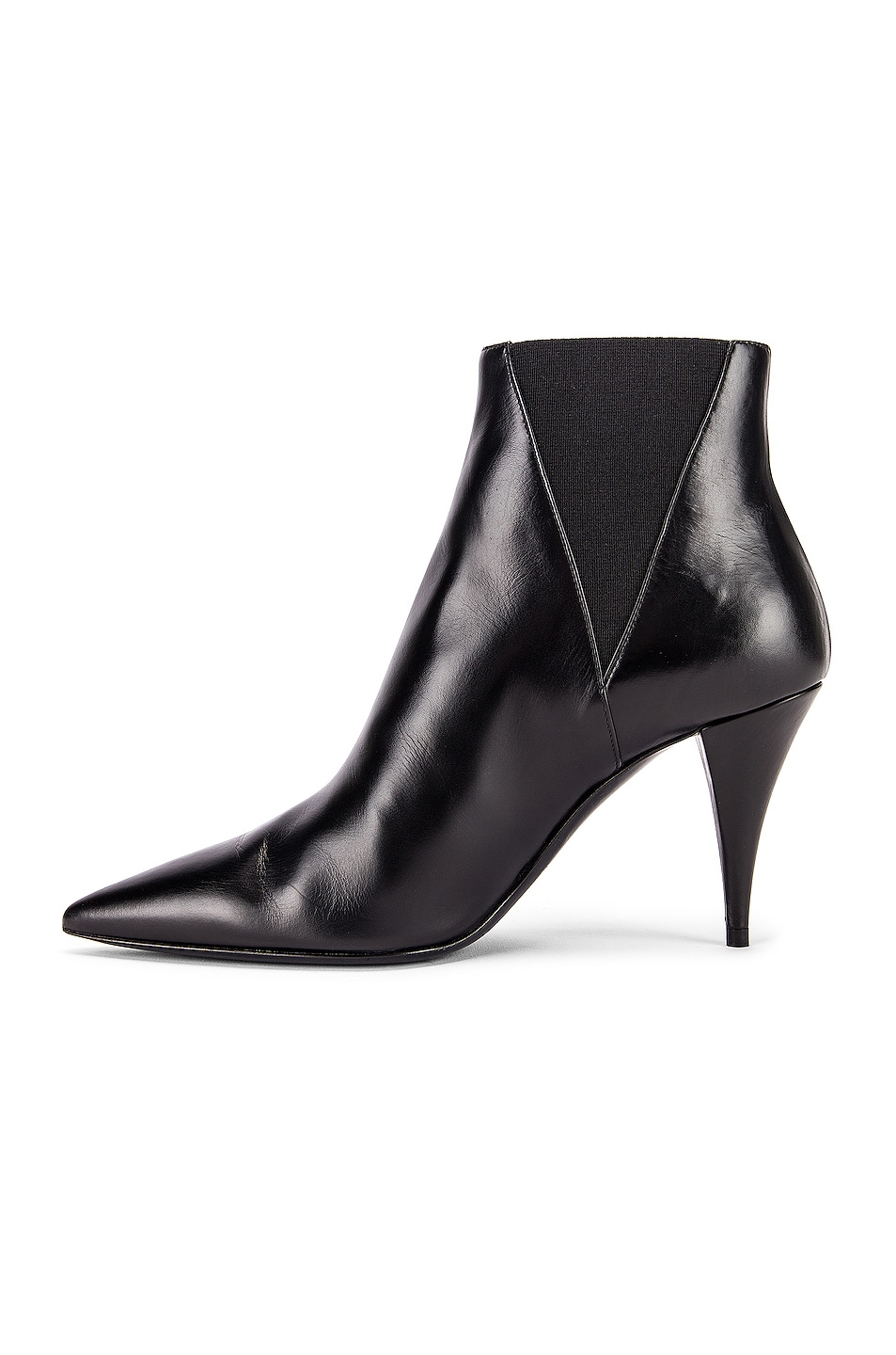 Image 5 of Saint Laurent Kiki Chelsea Booties in Black