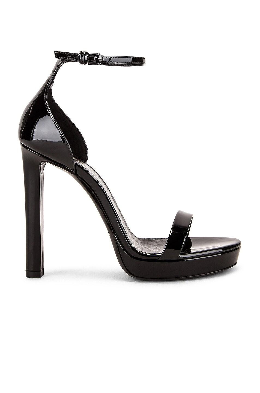 Image 1 of Saint Laurent Platform Hall Sandals in Black