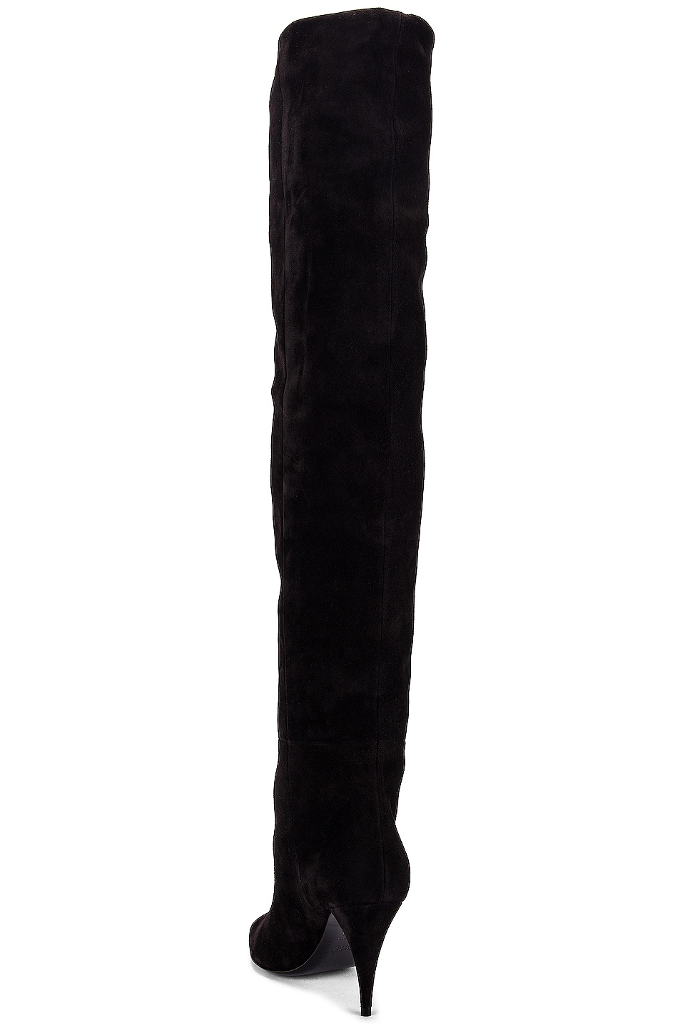 Image 3 of Saint Laurent Kiki Over the Knee Boots in Black