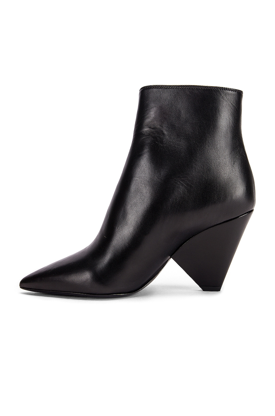 Image 5 of Saint Laurent Niki Zip Booties in Black