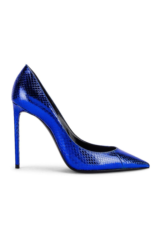 Image 1 of Saint Laurent Anja Pumps in Electric Blue