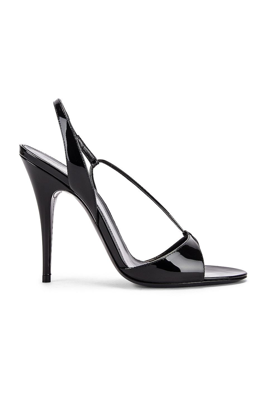 Image 1 of Saint Laurent Anouk Sandals in Black