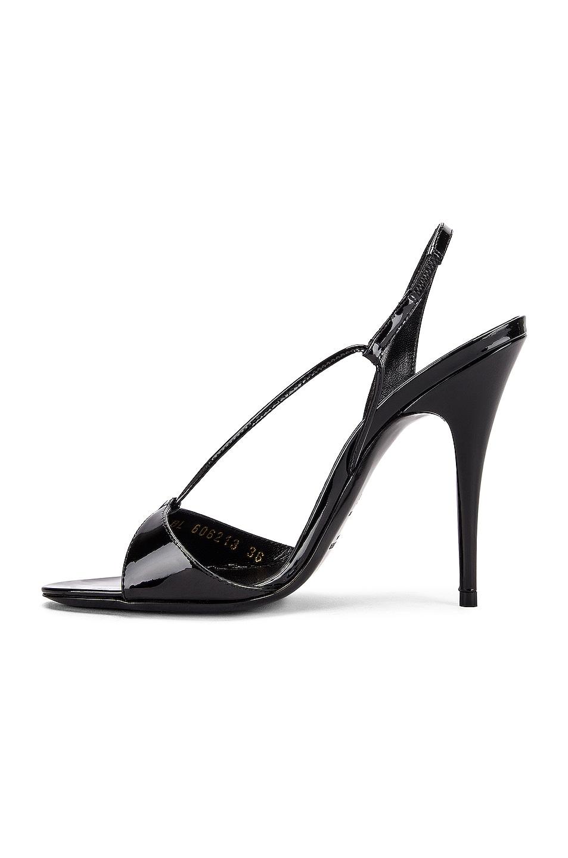 Image 5 of Saint Laurent Anouk Sandals in Black