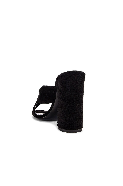 Image 3 of Saint Laurent LouLou Mules in Black