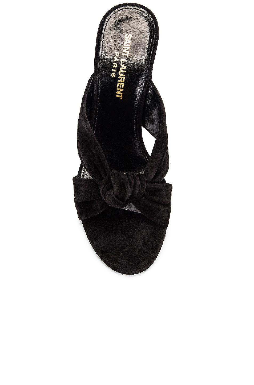 Image 4 of Saint Laurent LouLou Mules in Black