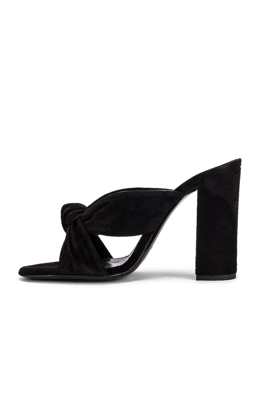 Image 5 of Saint Laurent LouLou Mules in Black