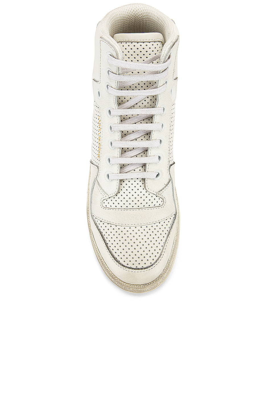 Image 4 of Saint Laurent High Top Sneakers in White