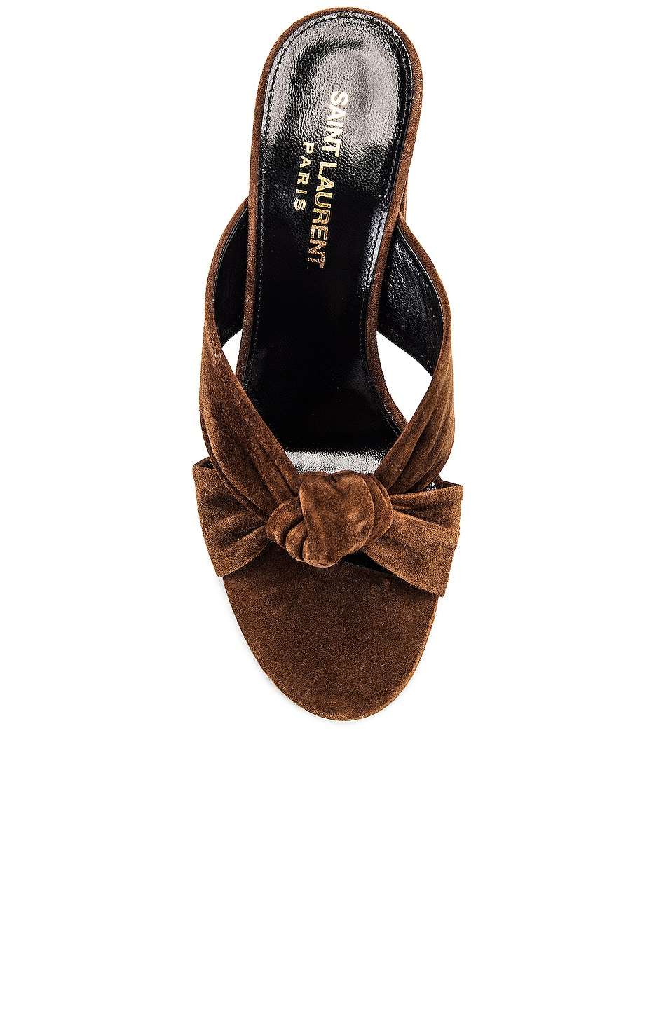 Image 4 of Saint Laurent LouLou Mules in Land