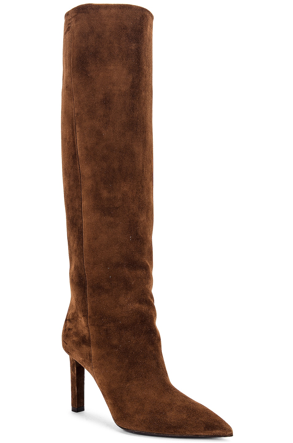 Image 2 of Saint Laurent Kate Boots in Land