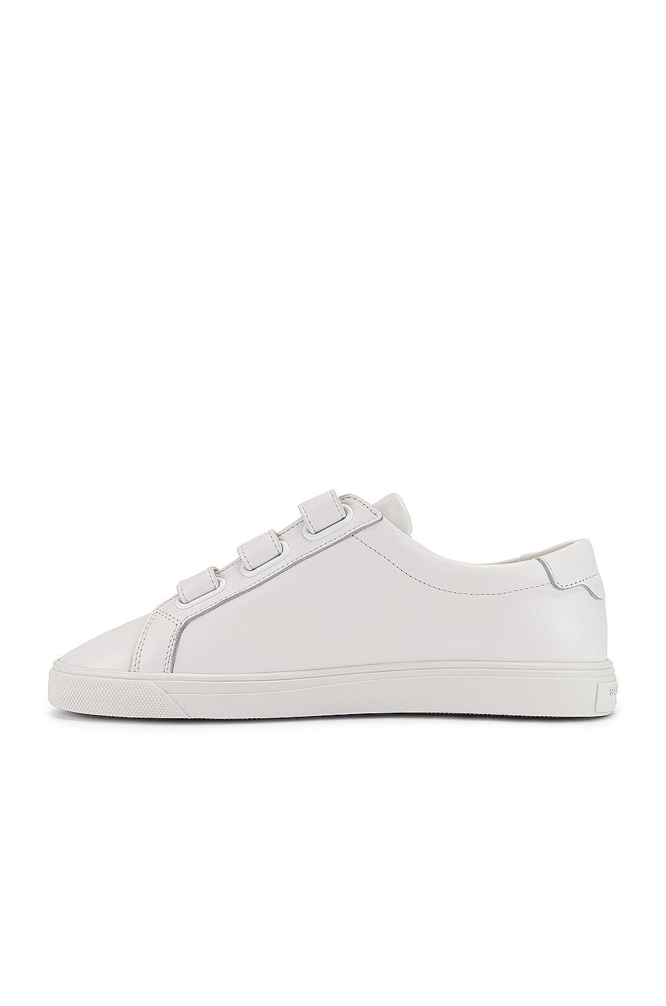 Image 5 of Saint Laurent Andy Velcro Strap Low Top Sneakers in White