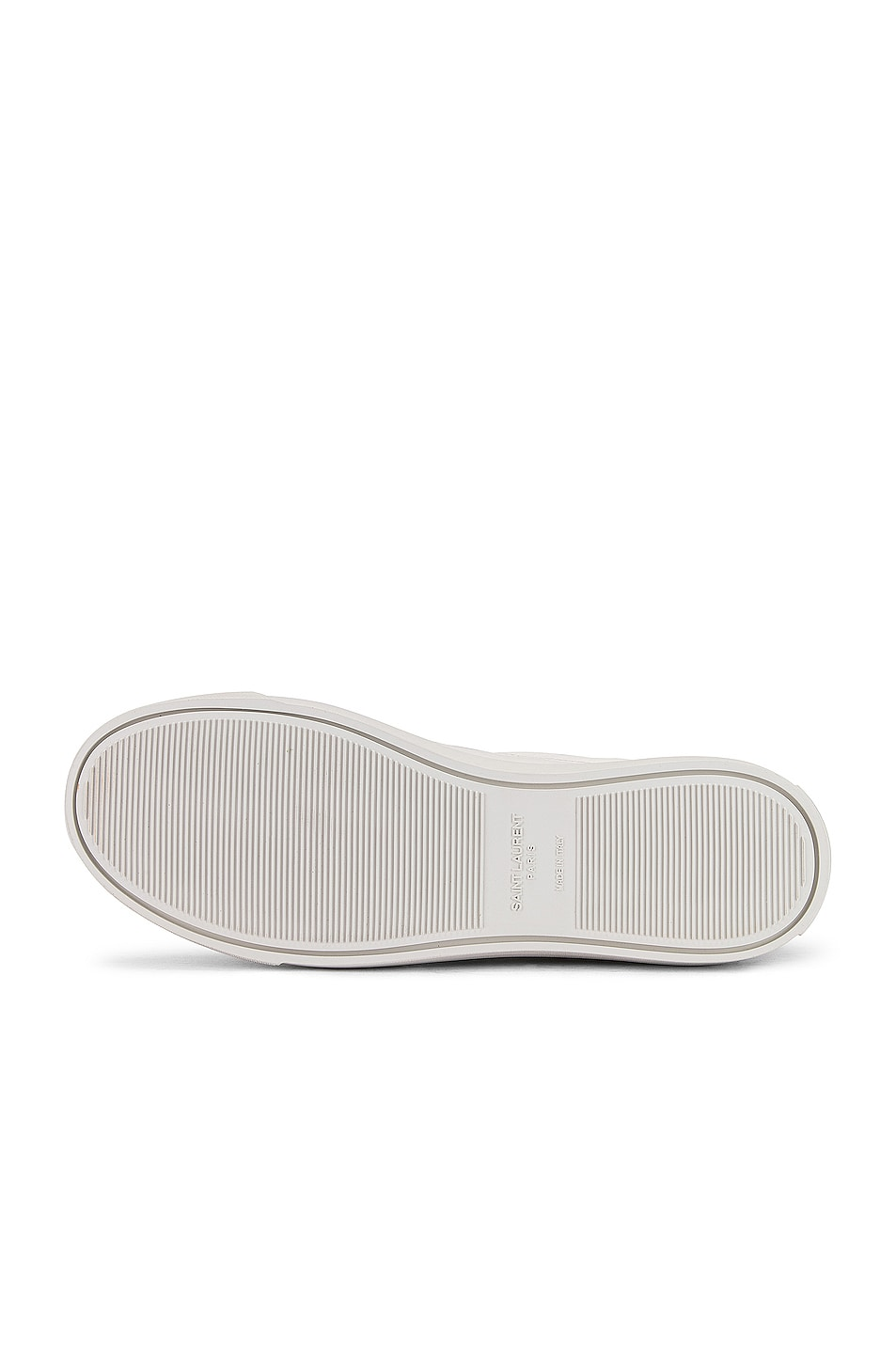 Image 6 of Saint Laurent Andy Velcro Strap Low Top Sneakers in White