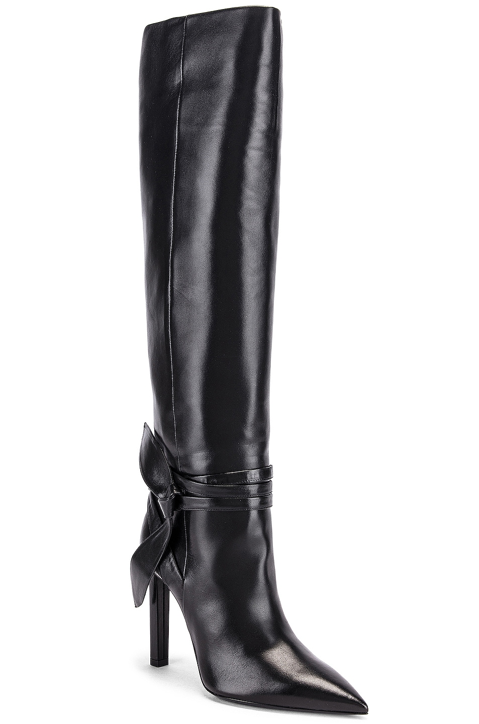 Image 2 of Saint Laurent Kate Boots in Black