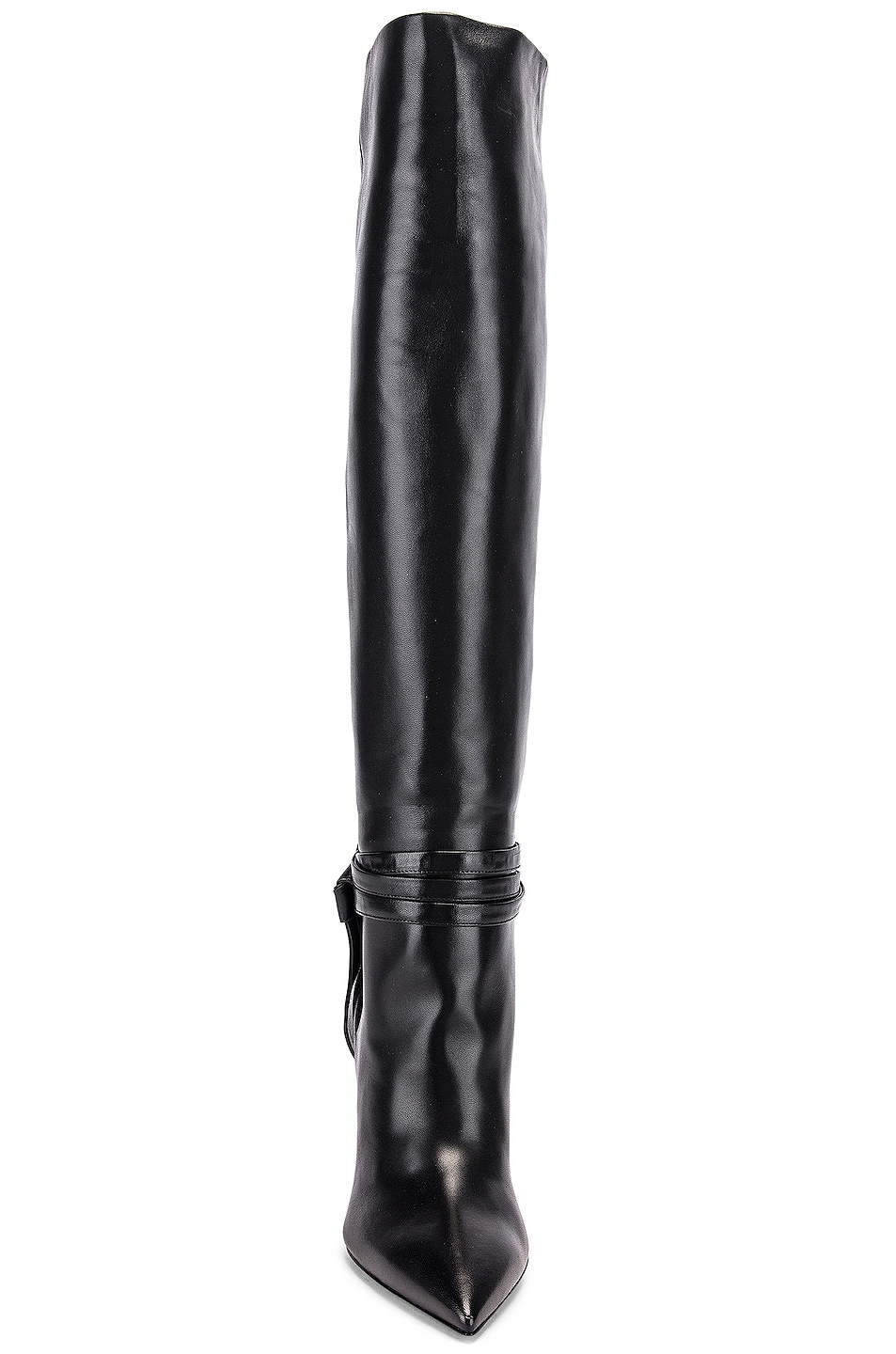 Image 4 of Saint Laurent Kate Boots in Black