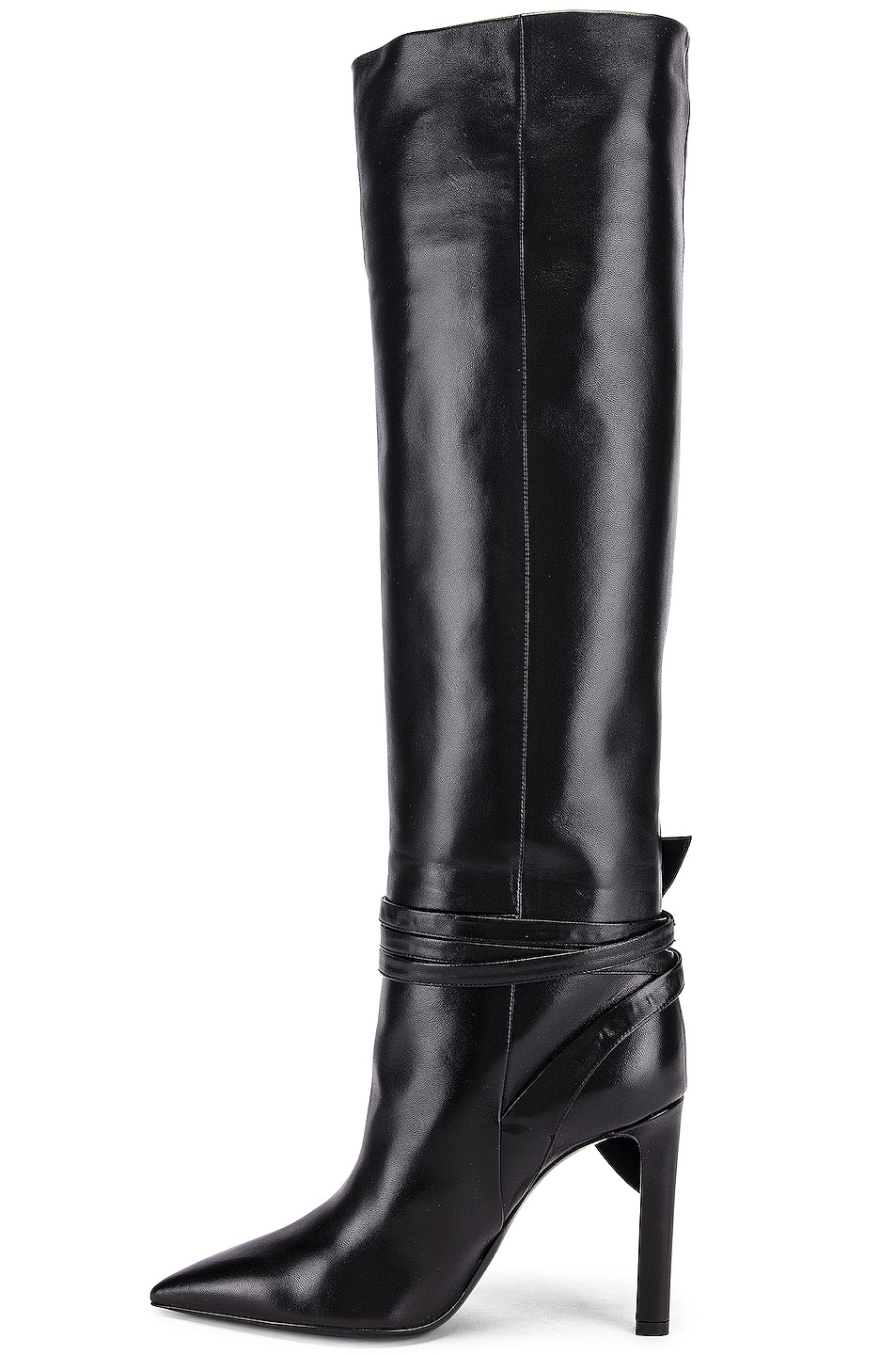 Image 5 of Saint Laurent Kate Boots in Black