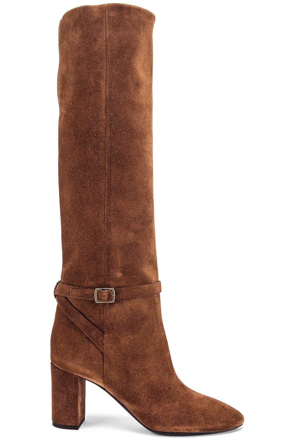 Image 1 of Saint Laurent Lou Harness Boots in Land