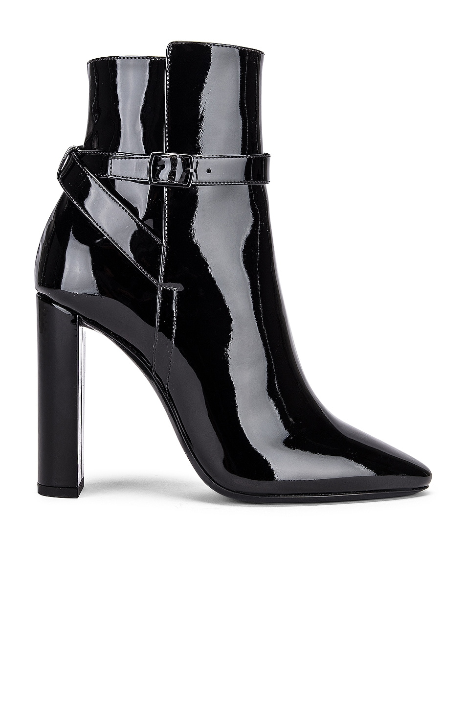 Image 1 of Saint Laurent Soixant Booties in Nero