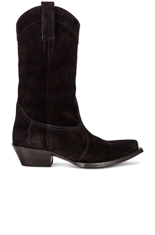 Image 1 of Saint Laurent Houston Boots in Nero