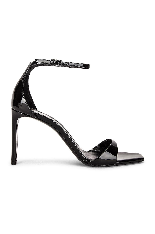 Image 1 of Saint Laurent Bea Sandals in Noir