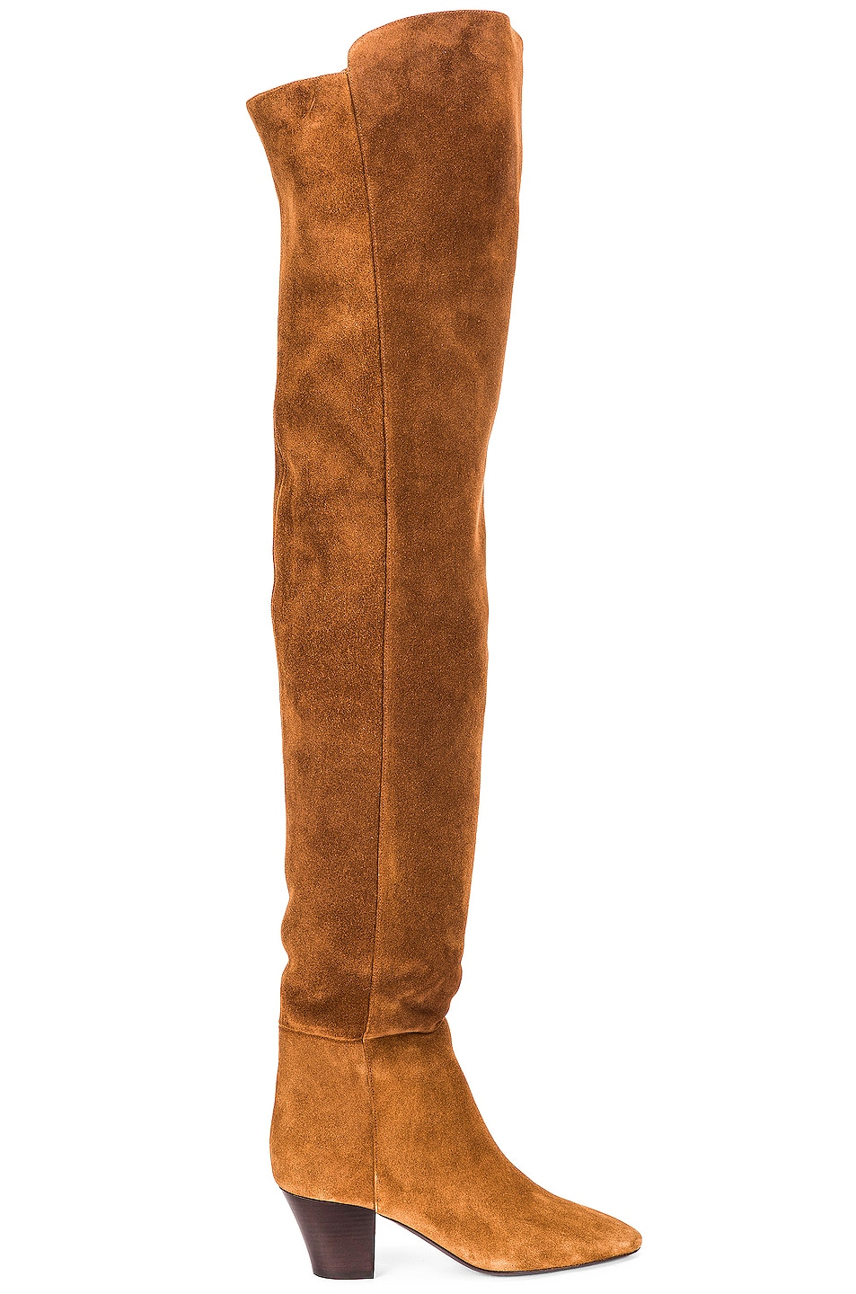 Image 1 of Saint Laurent Kim Over The Knee Boots in Land