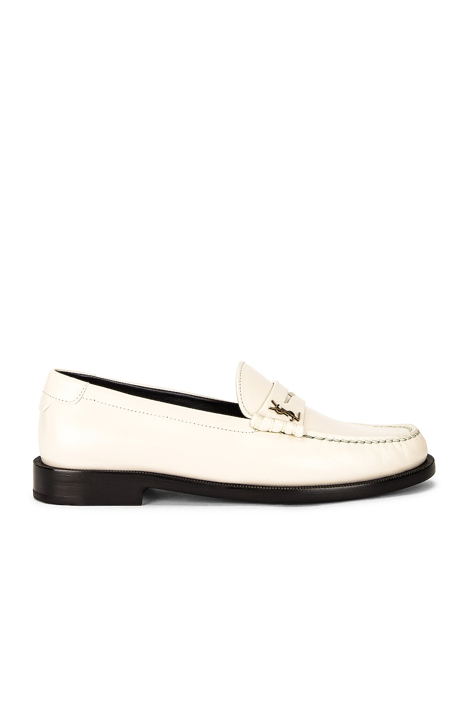 Image 1 of Saint Laurent Le Loafer Moccassins in Pearl