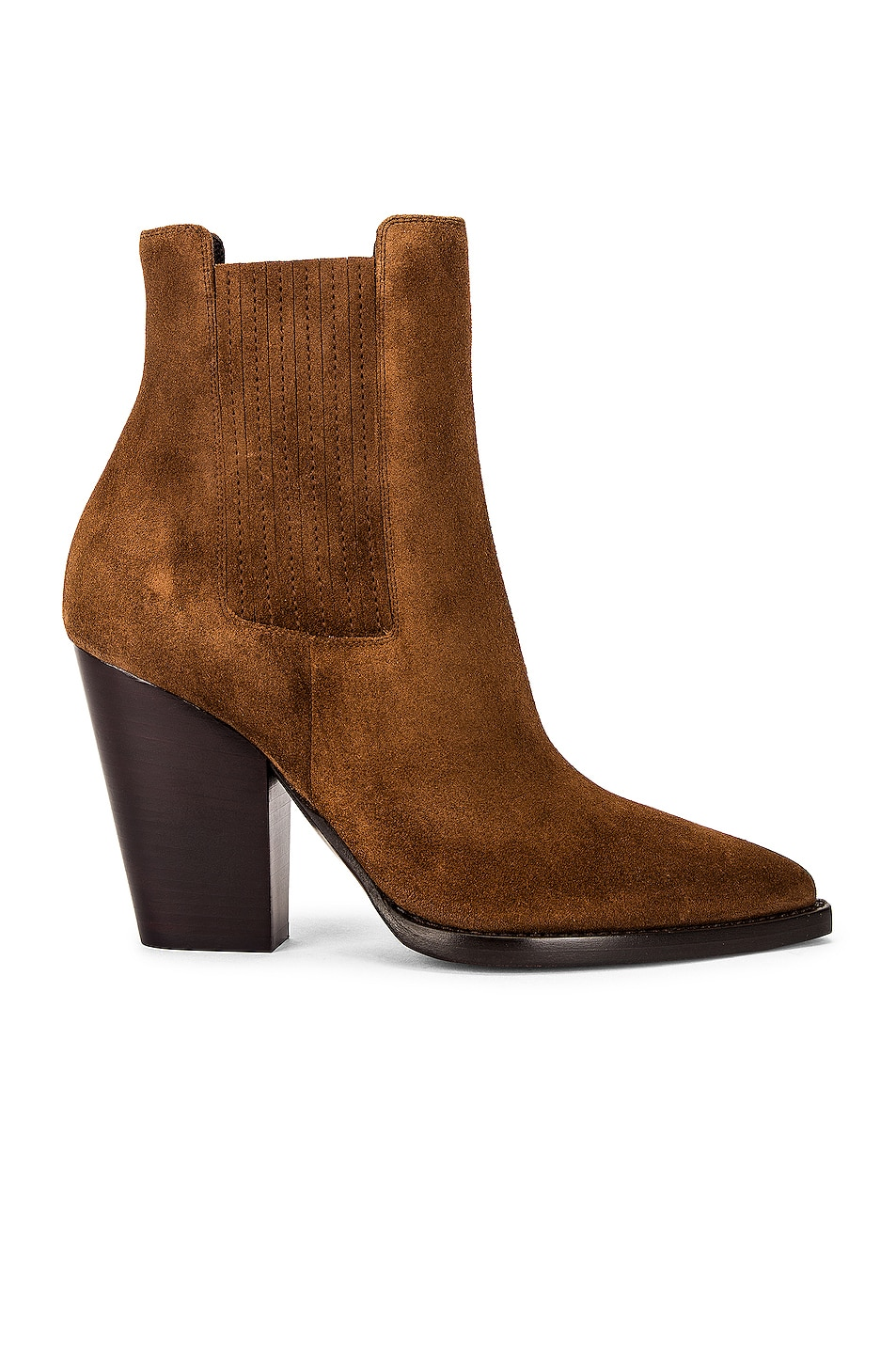 Image 1 of Saint Laurent Theo Chelsea Booties in Land