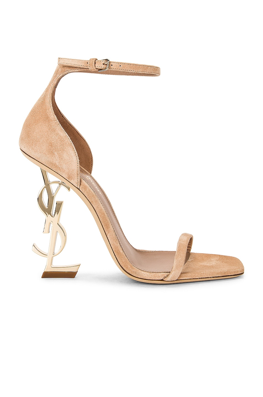 Image 1 of Saint Laurent Opyum Sandals in Beige Poudre
