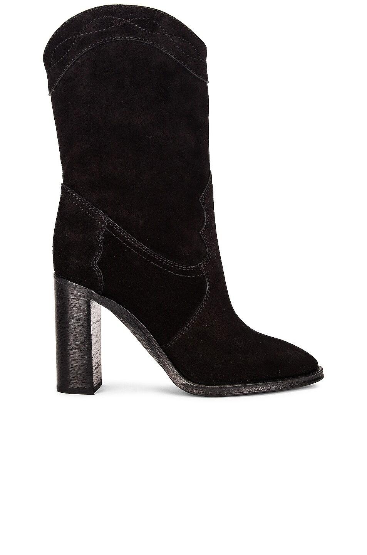 Image 1 of Saint Laurent Kate Booties in Noir