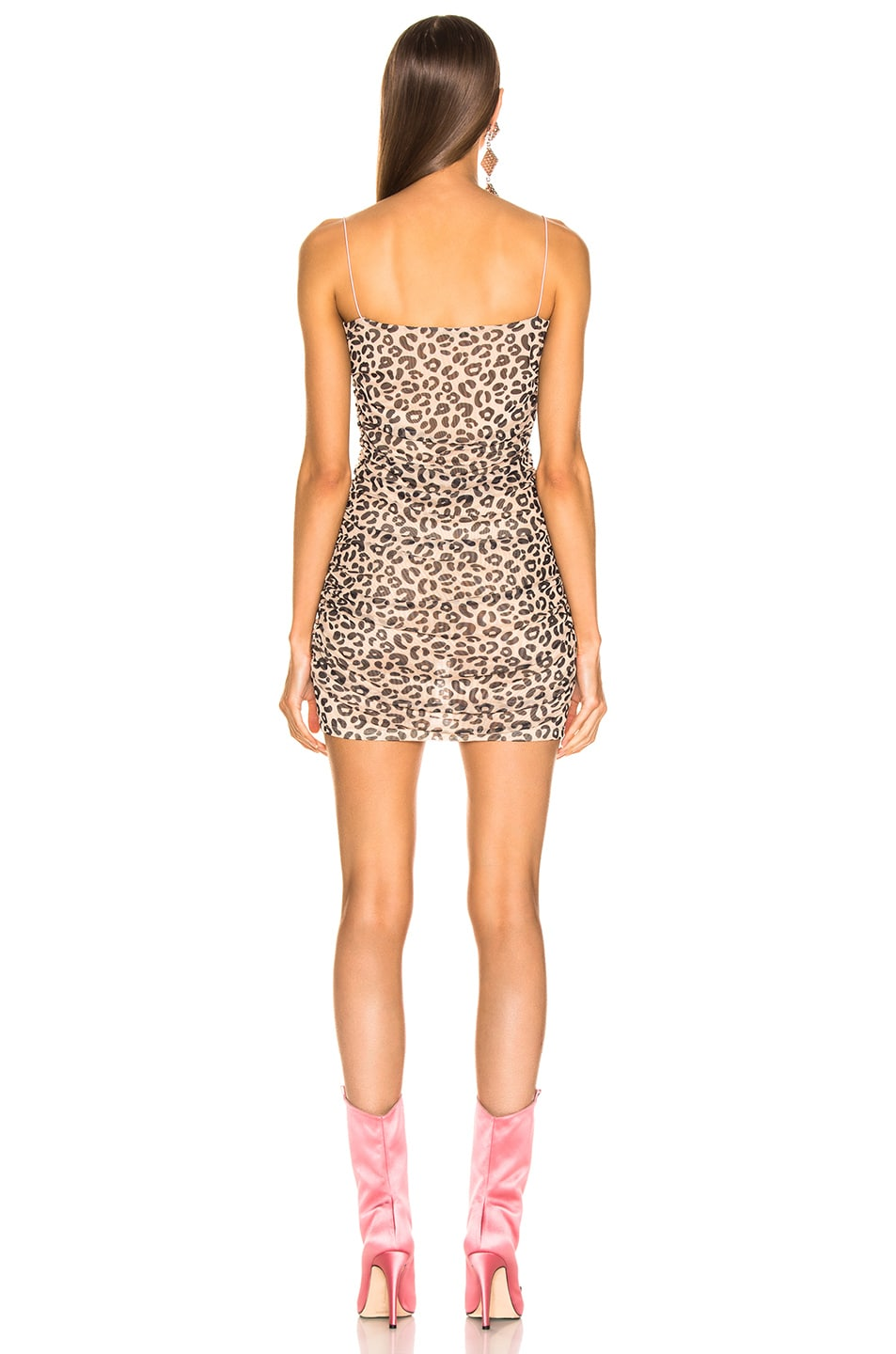 Image 3 of Sandy Liang Lily Dress in Pale Leopard