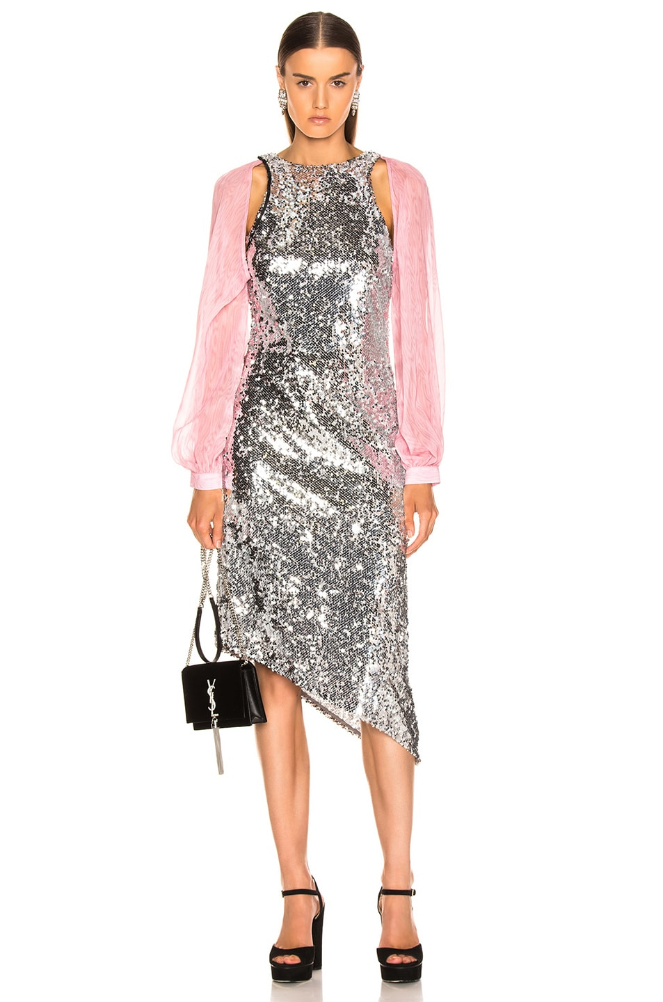 Image 1 of Sandy Liang Fonda Dress in Sequins