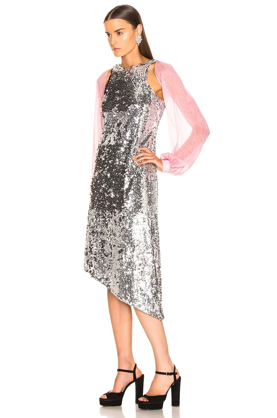 Image 4 of Sandy Liang Fonda Dress in Sequins
