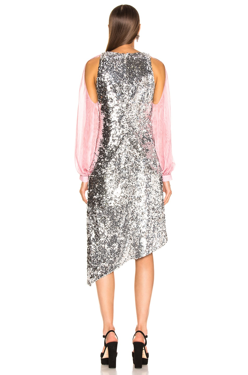 Image 5 of Sandy Liang Fonda Dress in Sequins