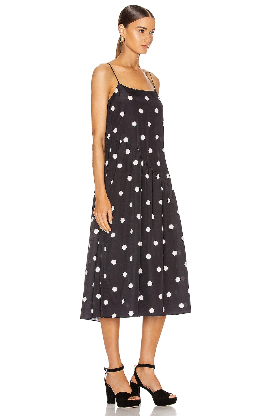 Image 2 of Sandy Liang Sans Dress in Pearl Dot