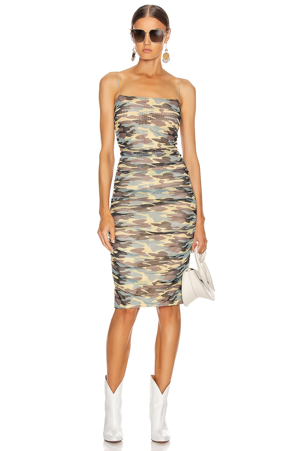 Image 1 of Sandy Liang Ditto Dress in Camo