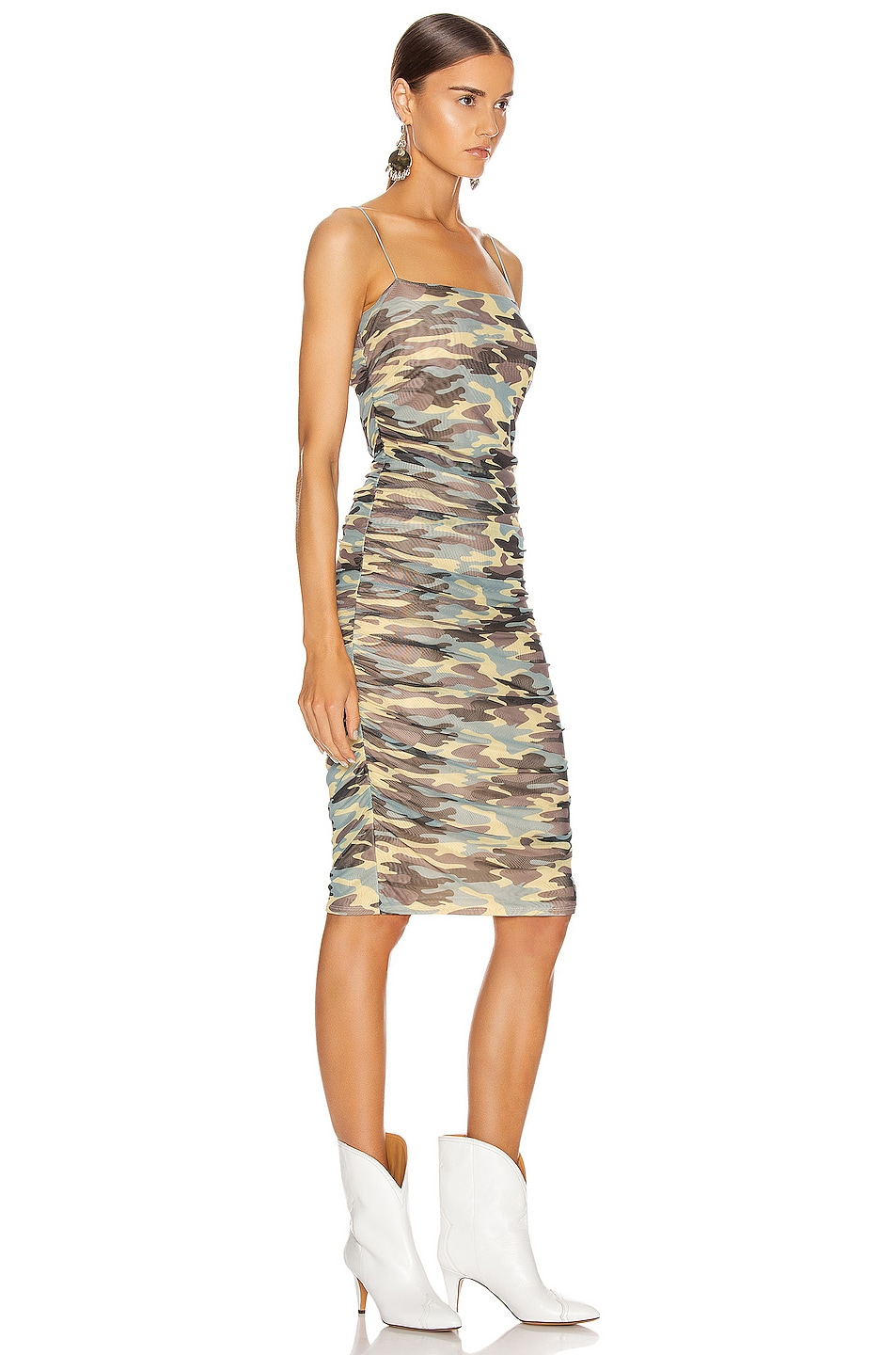 Image 2 of Sandy Liang Ditto Dress in Camo