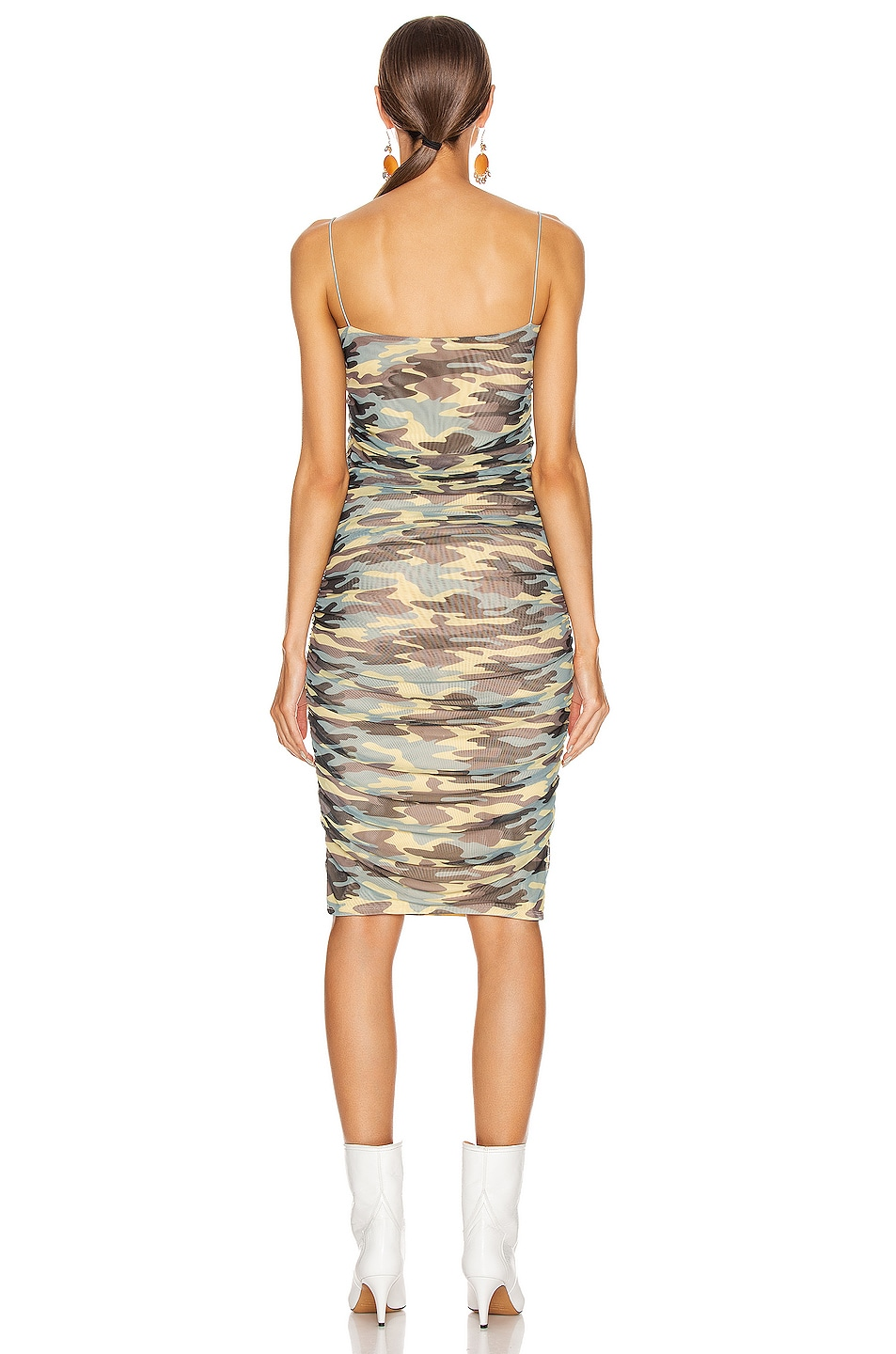 Image 3 of Sandy Liang Ditto Dress in Camo