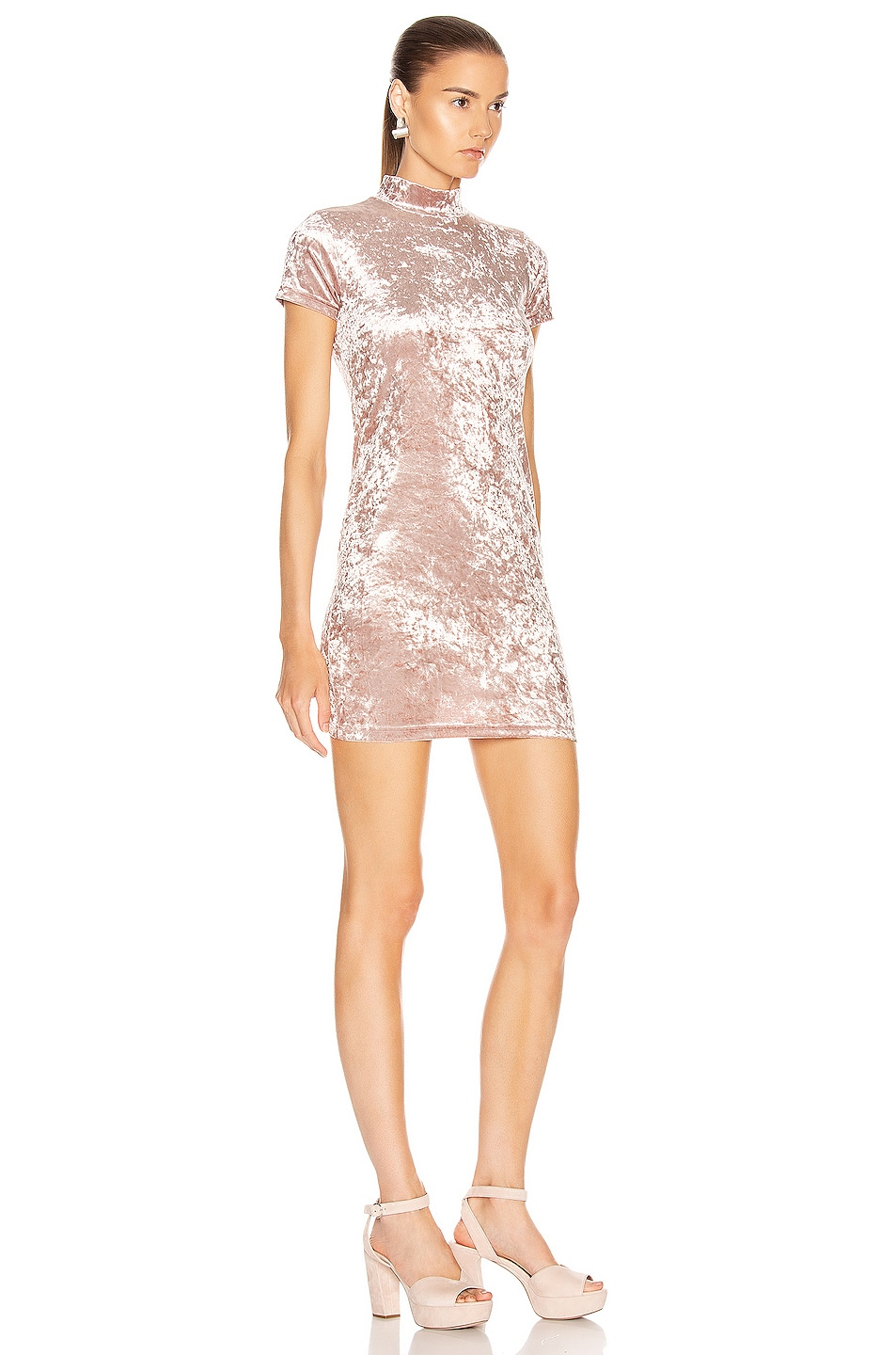 Image 2 of Sandy Liang Koro Dress in Dusty Pink