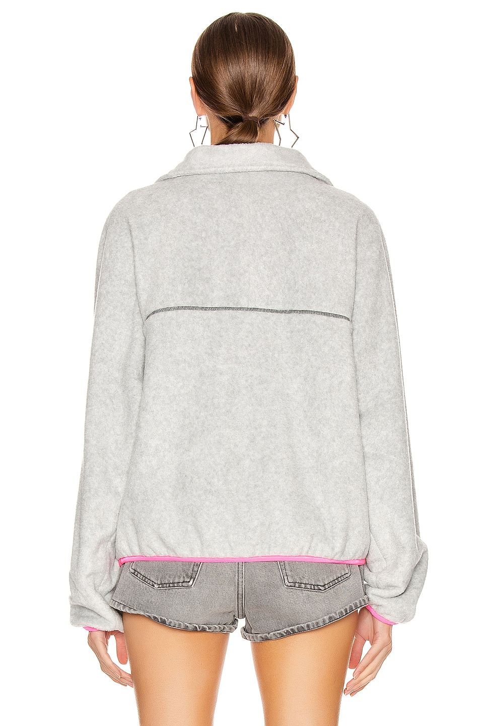 Image 3 of Sandy Liang Bean Pullover in Old Snow