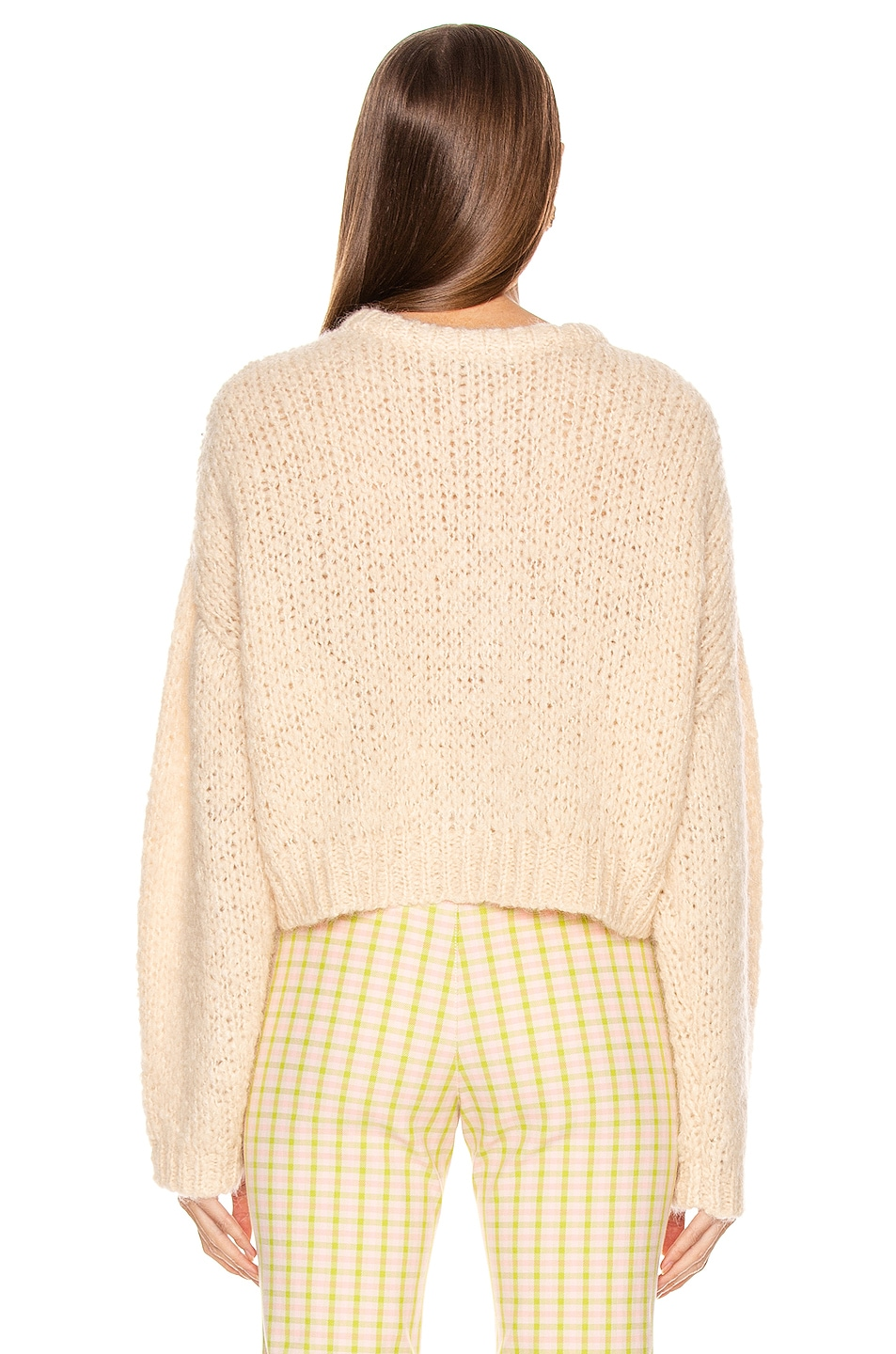 Image 4 of Sandy Liang Post Cardigan in Panacotta