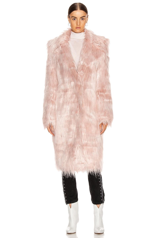 Image 2 of Sandy Liang Vert Coat in Pink Tinsel