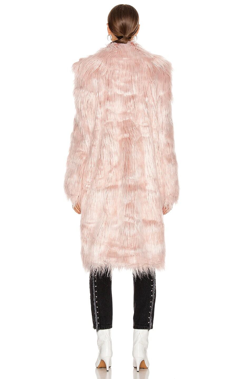 Image 4 of Sandy Liang Vert Coat in Pink Tinsel