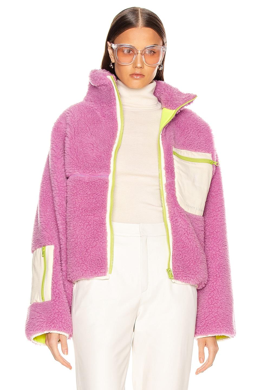 Image 1 of Sandy Liang Ponyo Fleece in Pink