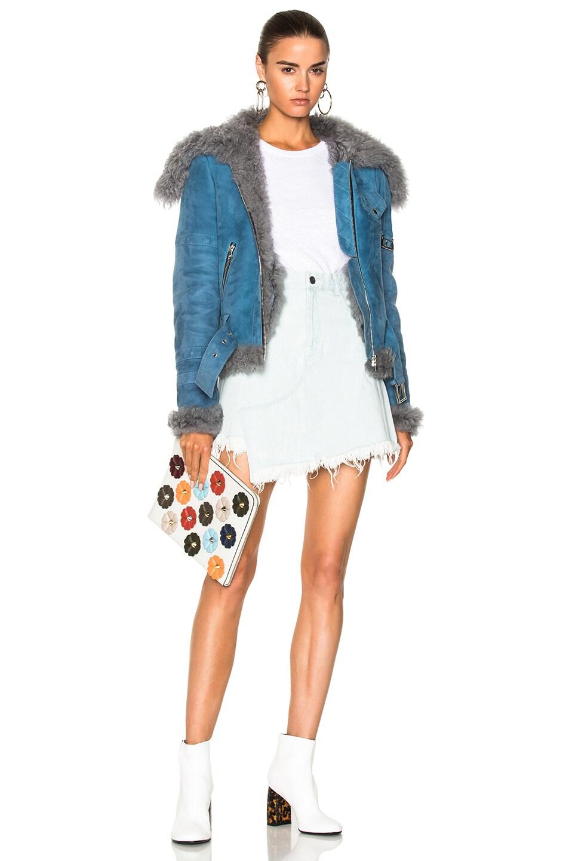 Image 6 of Sandy Liang Skyla Jacket in Cloudy