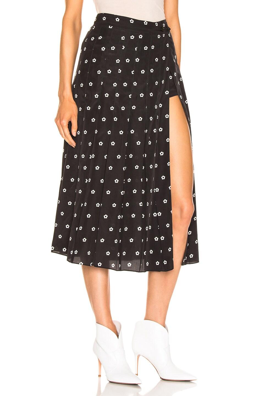 Image 2 of Sandy Liang Uniform Skort in Dalmatian