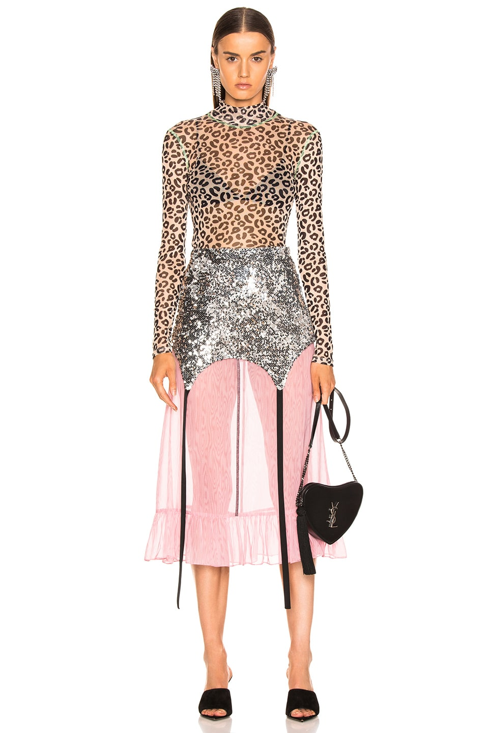 Image 4 of Sandy Liang Roid Skirt in Sequins