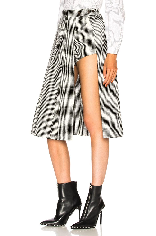 Image 3 of Sandy Liang Uniform Skort in Gingham