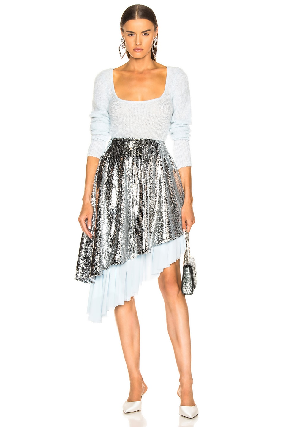 Image 5 of Sandy Liang Skrrt Skirt in Disco
