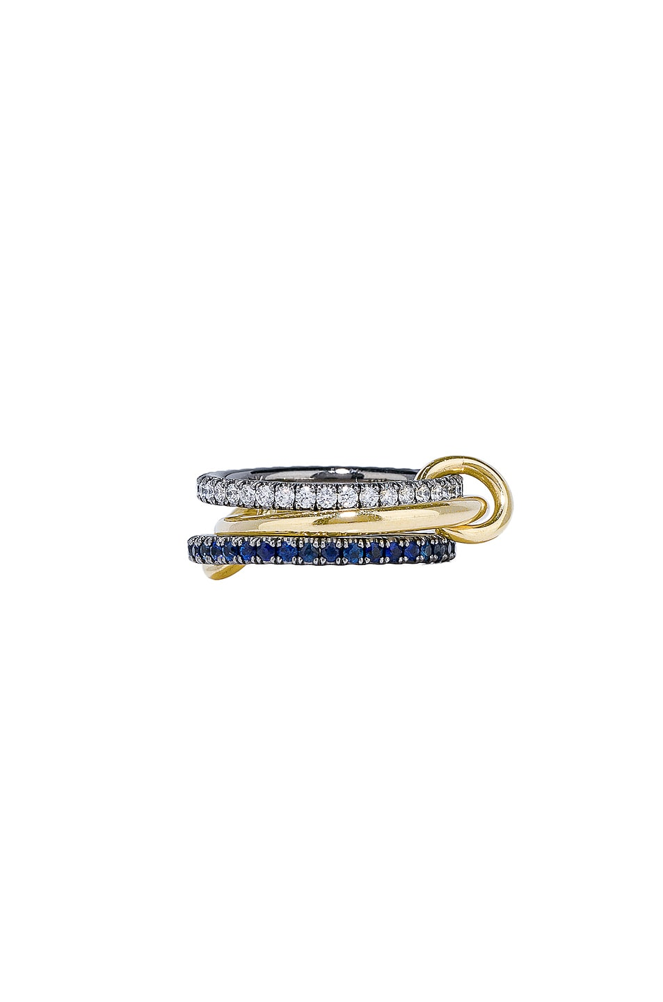 Image 1 of Spinelli Kilcollin Celeste Sapphire Ring in 18K Yellow Gold
