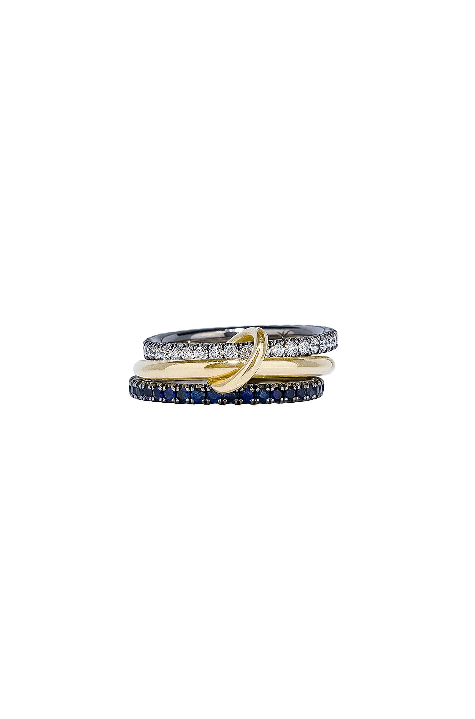 Image 2 of Spinelli Kilcollin Celeste Sapphire Ring in 18K Yellow Gold