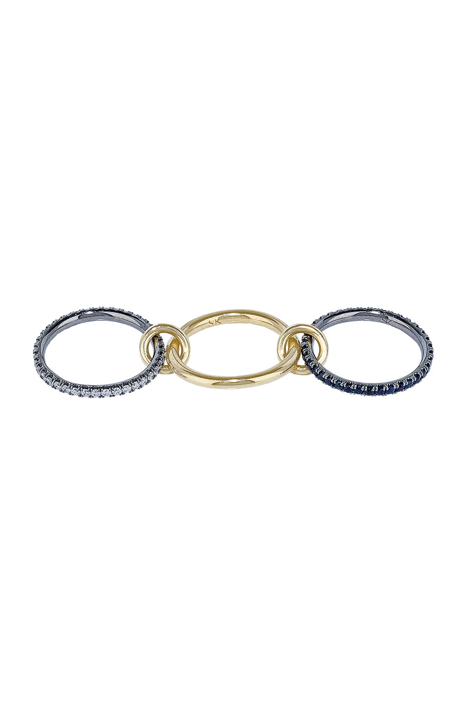 Image 4 of Spinelli Kilcollin Celeste Sapphire Ring in 18K Yellow Gold